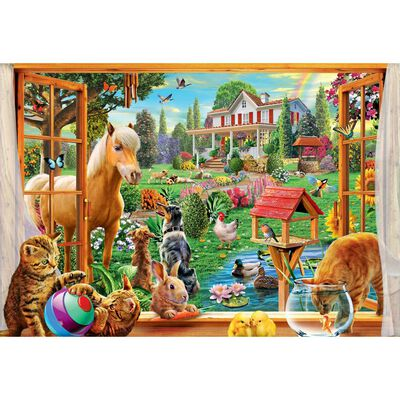 Summertime 1000 Piece Jigsaw Puzzle image number 2