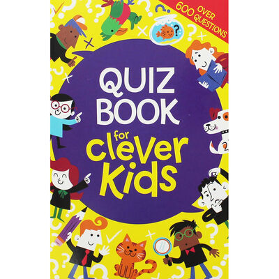 Quiz Book for Clever Kids image number 1