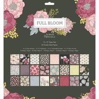 Full Bloom Paper Pad 12x12 Inch