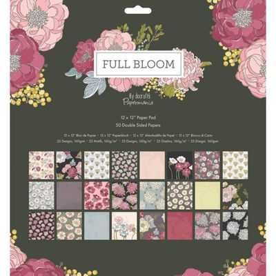 Full Bloom Paper Pad 12x12 Inch image number 1