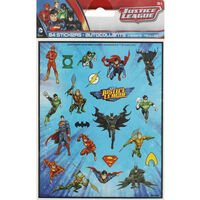 Justice League Sticker Sheets - 84 Stickers
