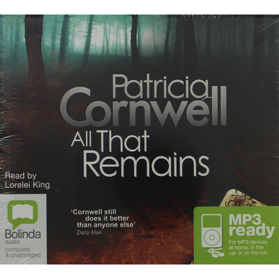 All That Remains: MP3 CD image number 1