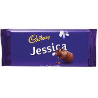 Cadbury Dairy Milk Chocolate Bar 110g - Jessica