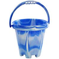 Medium Marble Round Bucket - Assorted