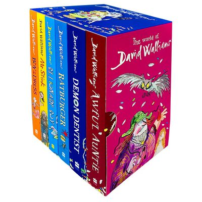 The World of David Walliams: 6 Book Box Set image number 2