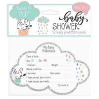 Baby Shower: 12 Prediction Cards