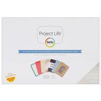 American Crafts: Project Life Heidi Swapp Cut & Paste 100 Piece Kit