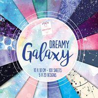 Dreamy Galaxy Design Pad: 10 x 10cm