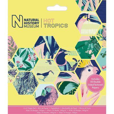 Hot Tropics Paper Pad 6 x 6 Inch image number 1