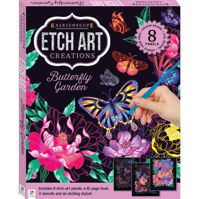 Kaleidoscope Etch Art Creations: Butterfly Garden image number 1