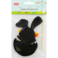 Easter Scratch Art Set - 10 Pack - Assorted