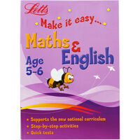Letts Maths and English: Age 5-6