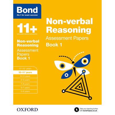 Bond 11+ Non-Verbal Reasoning image number 1