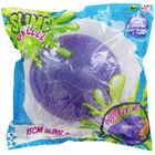Jumbo Glitter Slime Ball - Purple image number 1