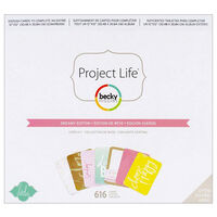 American Crafts: Project Life Dreamy 616 Piece Journal Kit