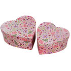 Floral Heart Shaped Storage Box - 2 Pack image number 1