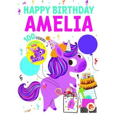Happy Birthday Amelia image number 1