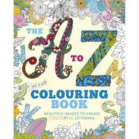 The A to Z Colouring Book