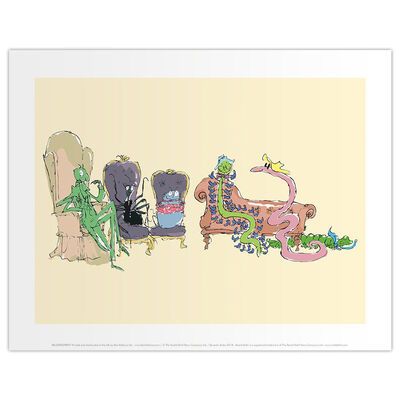 Roald Dahl James and the Giant Peach Chairs Print image number 1