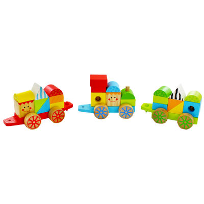 Wooden Stacking Train image number 2