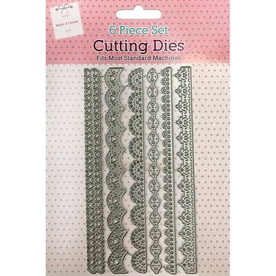 Decorative Borders Metal Cutting Die Set image number 1