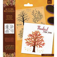 Autumn Blessings Collection Photopolymer Stamp: Autumnal Tree