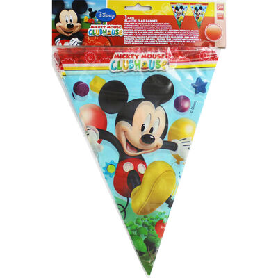 Mickey Mouse Plastic Flag Banner image number 1