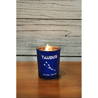 Zodiac Collection Taurus Fresh Vanilla Candle image number 4