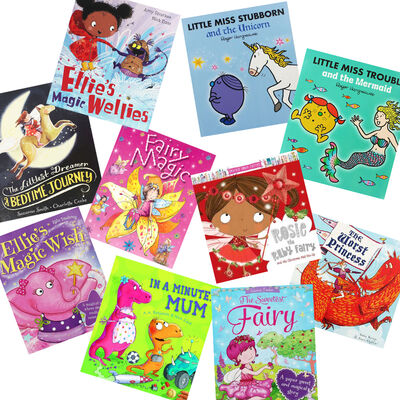 Sweet Fairies: 10 Kids Picture Books Bundle image number 1