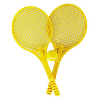 Yellow Soft Tennis Set