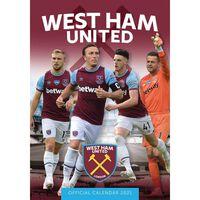 West Ham FC A3 Calendar 2021
