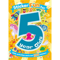 Sticker Fun for 5 Year Olds