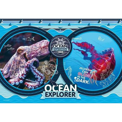Ocean Expedition 180 Piece Jigsaw Puzzle image number 2