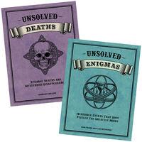 Unsolved Deaths & Enigmas Book Bundle