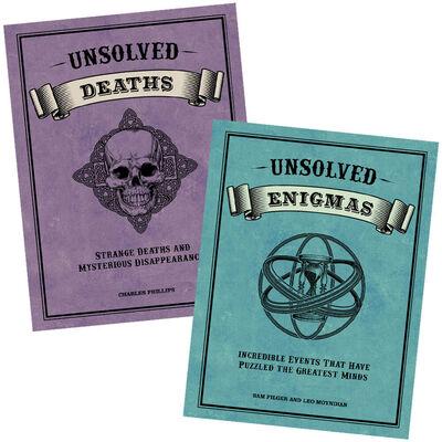 Unsolved Deaths & Enigmas Book Bundle image number 1