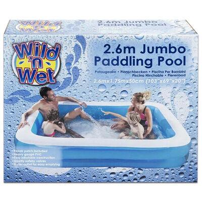 Wild n Wet Jumbo Garden Paddling Inflatable Pool image number 2