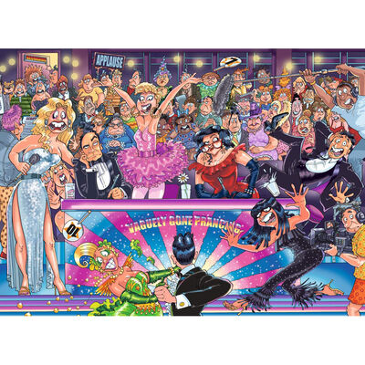 Wasgij Original 30 Strictly Can't Dance 1000 Piece Jigsaw Puzzle image number 2