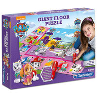 Paw Patrol Interactive Giant Floor Jigsaw Puzzle: Pink