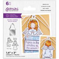 Gemini Stamp & Die Set: Peace & Joy