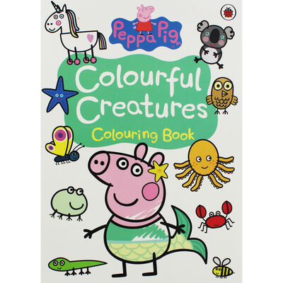 Peppa Pig: Colourful Creatures Colouring Book image number 1