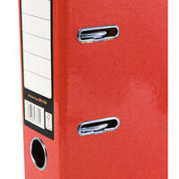 Bright Red A4 Lever Arch File