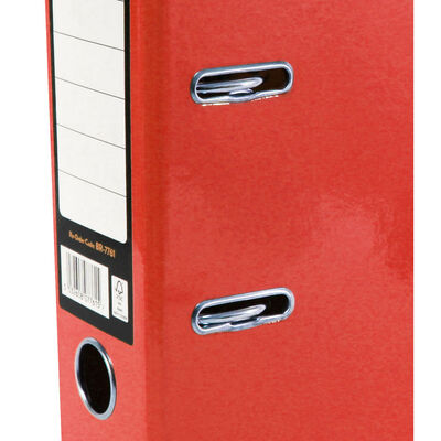 Bright Red A4 Lever Arch File image number 2