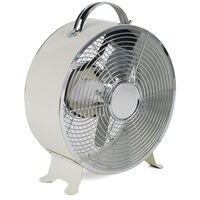 Beldray 8 Inch Cream Clock Fan