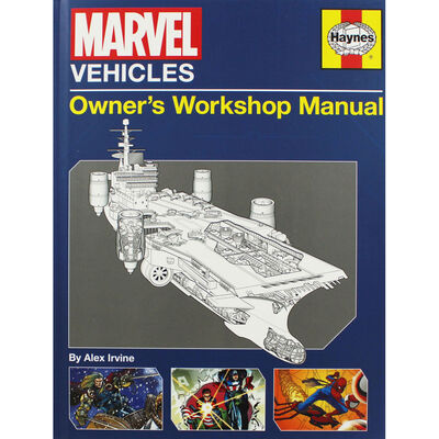 Haynes Marvel Vehicles Manual image number 1