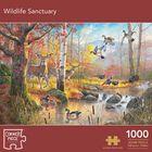Wildlife Sanctuary 1000 Piece Jigsaw Puzzle image number 1