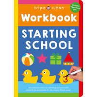 Wipe Clean Workbook: Starting School