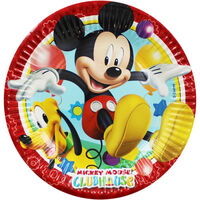 Mickey Mouse Small Paper Plates - 8 Pack