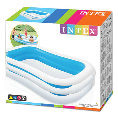 Intex Swim Centre Family Paddling Pool - Over 8ft image number 1