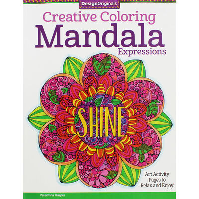 Creative Coloring: Mandala Expressions image number 1