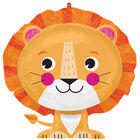 24 Inch Lion Super Shape Helium Balloon image number 1